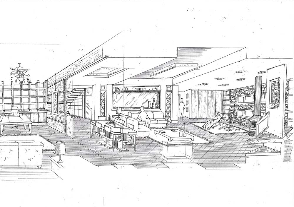 Studio ardesia progetto di ristrutturazione appartamento for Metraggio di appartamento studio