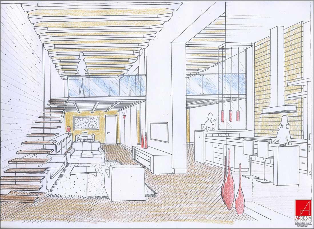 studio ardesia progetto di ristrutturazione appartamento